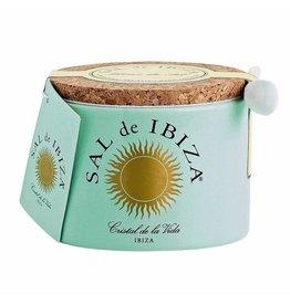 Sal de Ibiza Sal de Ibiza - Fleur de sel 150 g. ceramic pot + spoon
