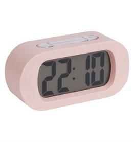 Karlsson Gummy alarm clock pink