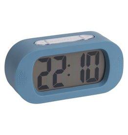 Karlsson Gummy alarm clock blue