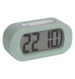 Karlsson Gummy alarm clock green