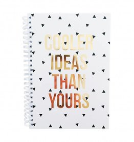 Studio Stationary Notebook 'cooler ideas than yours'  - 14,8 x 21 cm (A5)
