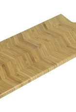 Serving board fishbone 48 x 19 x 1.8 cm