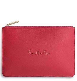 Katie Loxton Katie Loxton pouch - marvellous mum fushia pink 24x16 cm
