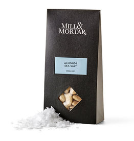 Mill & Mortar Almonds sea salt 100 gr. - BIO