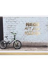 Enfant Terrible Enfant Terrible card  + envelope 'communie BMX'
