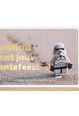 Enfant Terrible Enfant Terrible card  + envelope 'lentefeest Star Wars'