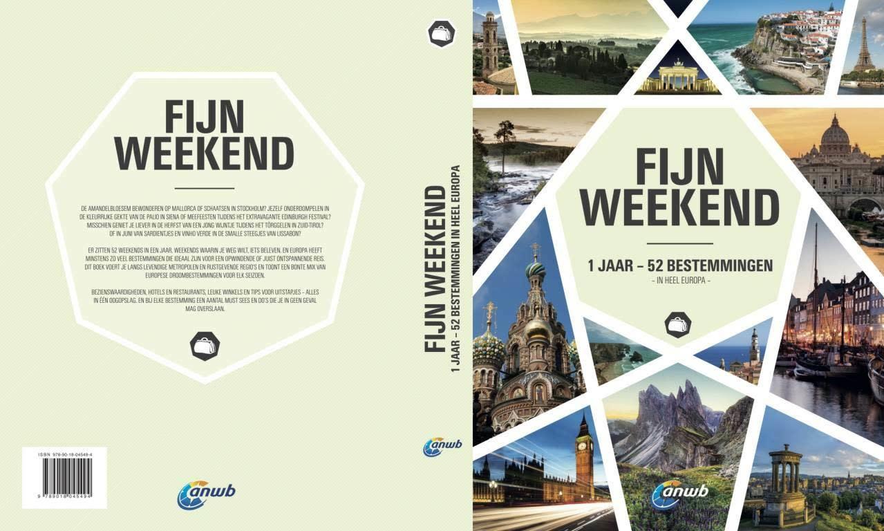 Lannoo Uitgeverij Fijn weekend, 1 jaar - 52 bestemmingen