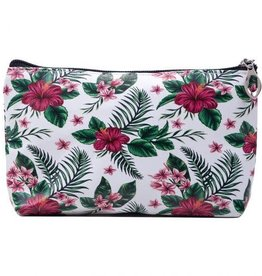 Me lady Make up bag flowers 21 x 15 cm