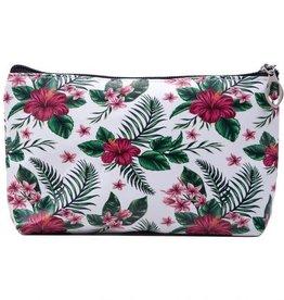 Me lady Make up bag flowers 22 x 13 cm
