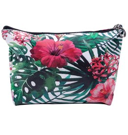 Me lady Make up bag flowers 24 x 18 cm