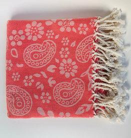 Bon Bini Bon Bini towel Lima coral