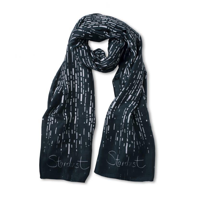 Katie Loxton Sentiment scarf - stardust - dark teal
