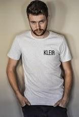 Kleir Kleir light grey melange t-shirt - KLEIR