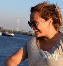 Kleir Kleir grey melange t-shirt - MOKKE