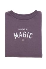 Bob & Blossom BELIEVE IN MAGIC sweater - plum - 1Y