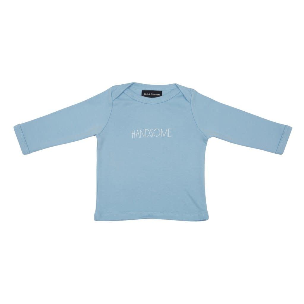 Bob & Blossom Sky blue Handsome Baby t-shirt 0-6 M