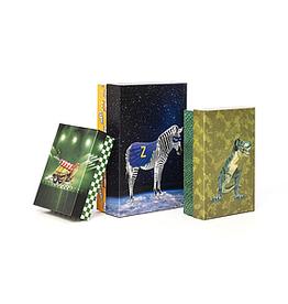 Enfant Terrible Enfant Terrible gift box large 'superheros' zebra