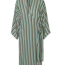 Becksondergaard Rafael Stria kimono - green