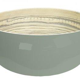gusta Bowl bamboo green 24 x 10 cm