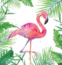 Paperproducts Design Napkin 25x25 cm 'flamingo' 20 pcs