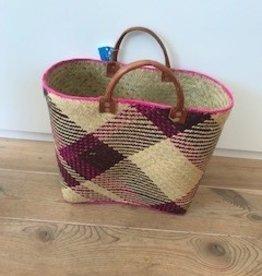 Gone Arty Basket Manda pink- - purple