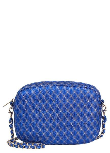Becksondergaard Leaf Paya bag - bright blue 20 x 14.5 cm