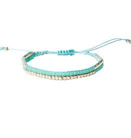With love Inca bracelet turquoise small