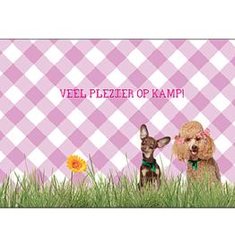 Enfant Terrible Enfant Terrible card + enveloppe 'kamp - hondjes'