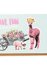 Enfant Terrible Enfant Terrible card + enveloppe 'have fun - alpaca''