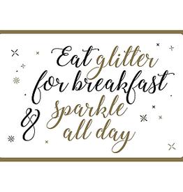 Enfant Terrible Enfant Terrible card  + envelope 'eat glitter for breakfast'