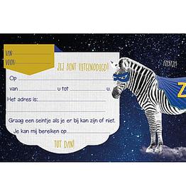 Enfant Terrible Enfant Terrible 5 invitations zebra