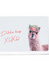 Enfant Terrible Enfant Terrible card  + envelope 'dikke kus XOXOXO'