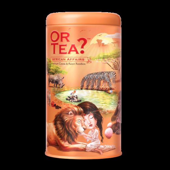 Or Tea? Or Tea? Tin canister African Affairs