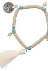 With love Ibiza bracelet beige