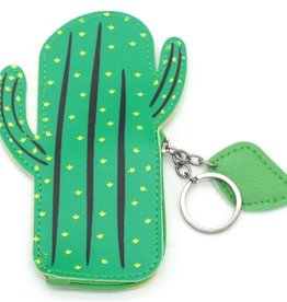 With love Keychain wallet cactus 14.5 x 9 cm