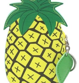 With love Keychain wallet pineapple 15 x 9 cm