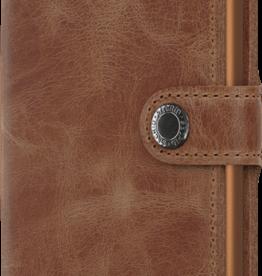 Secrid Secrid miniwallet vintage - Cognac rust