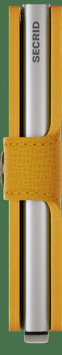 Secrid Secrid miniwallet crisple - Amber