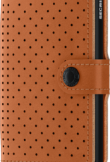 Secrid Secrid miniwallet perforated - cognac