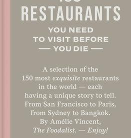 Lannoo Uitgeverij 150 restaurants you need to visit before you die