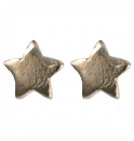 Treasure SIlver stud earrings star