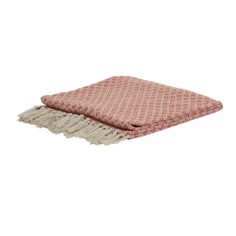 Cotton plaid arabe terra