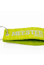 Mail-Box Vilten sleutelhanger 'meester you rock'