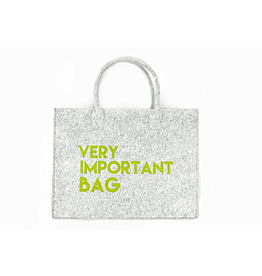 Mail-Box Vilt bag 'very important bag, very important person' 40 x 32 cm