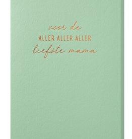 Papette Papette greeting card ocean 'Voor de aller liefste mama'