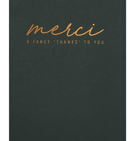 Papette Papette greeting card + enveloppe ' merci, a fancy 'thanks' to you'
