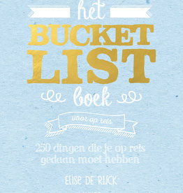 Lannoo Uitgeverij Het Bucketlist boek voor op reis