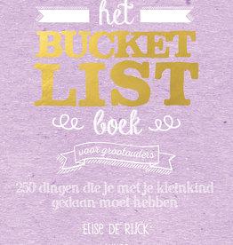 Lannoo Uitgeverij Het Bucketlist boek voor grootouders