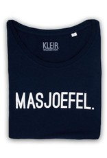 Kleir Kleir navy t-shirt  kids  - MASJOEFEL