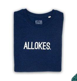 Kleir Kleir navy t-shirt  kids  - ALLOKES